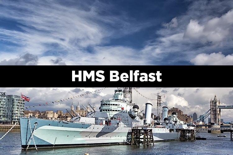 HMS Belfast en Londres