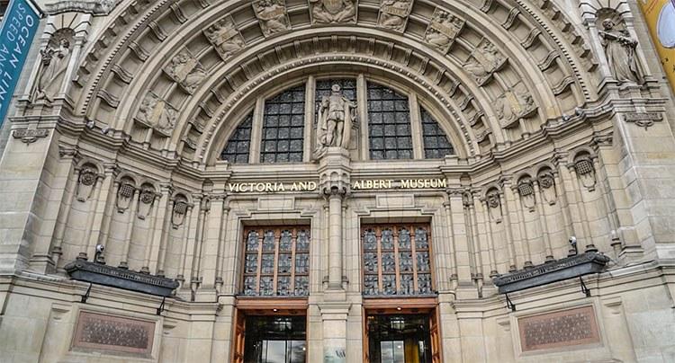 entrada Victoria y Albert Museum
