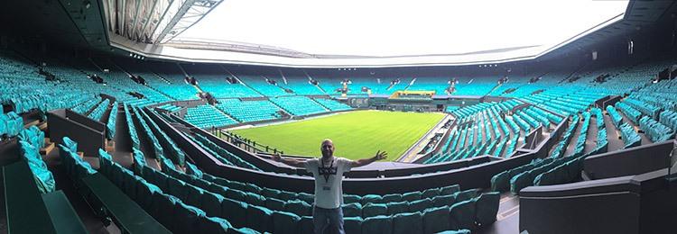 Instalaciones de Wimbledon estadio de wimbledom
