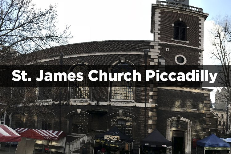 St. James Church Piccadilly
