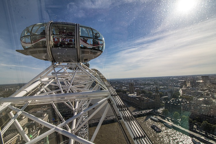 london eye altura maxima Noria London Eye