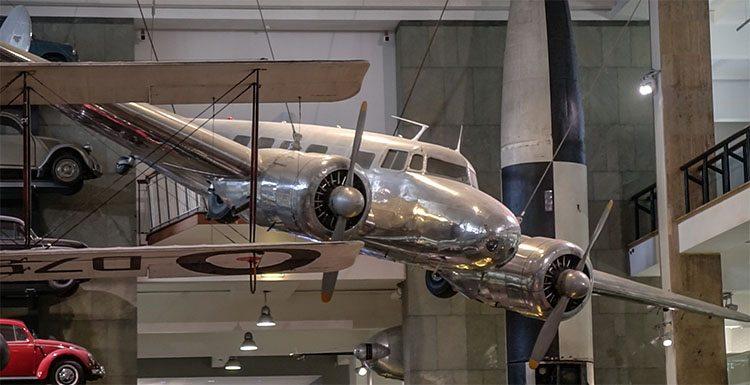 museo de la ciencia avion londres