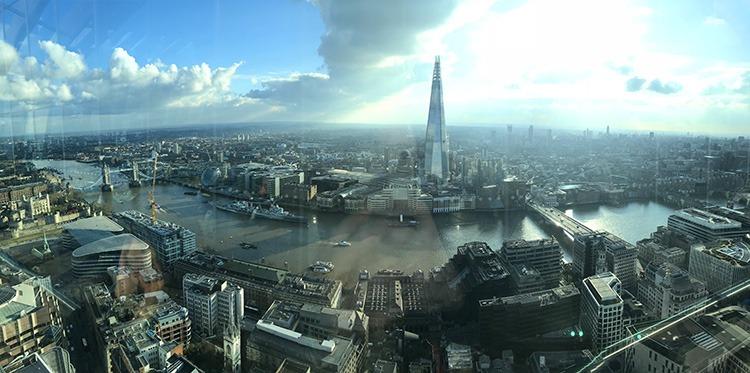 Mirador Skygarden en Londres