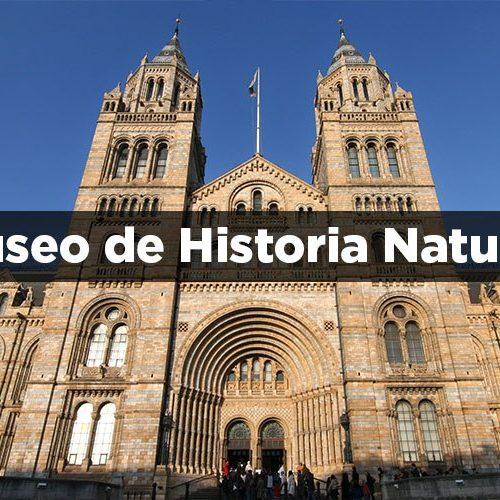 portada Museo de Historia Natural