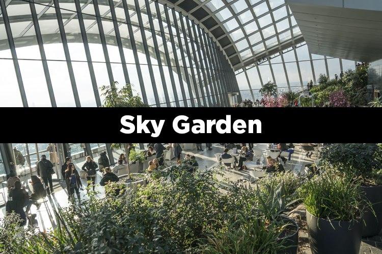 Mirador Sky Garden en Londres