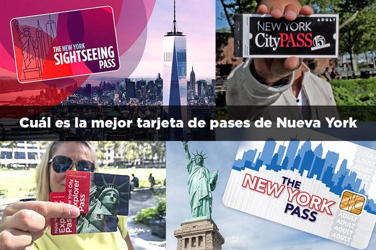 Cual es la mejor tarjeta de pases de Nueva York