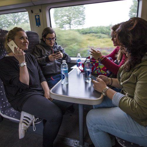 tren en Londres