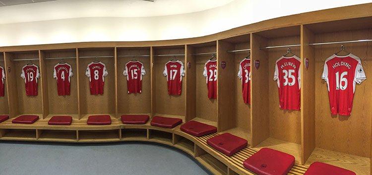 vestuarios Estadio del Arsenal