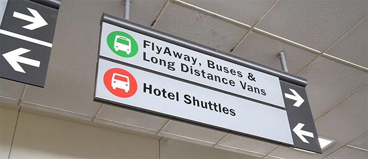 bus aeropuerto LAX