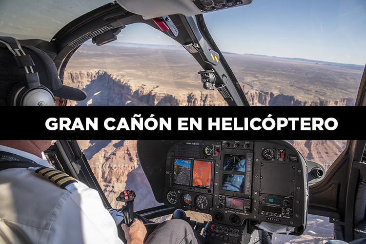 Cómo sobrevolar el Gran Cañón en helicóptero