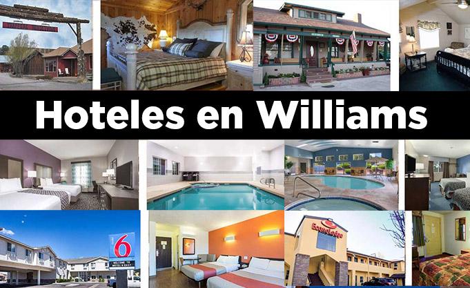 Hoteles en Williams
