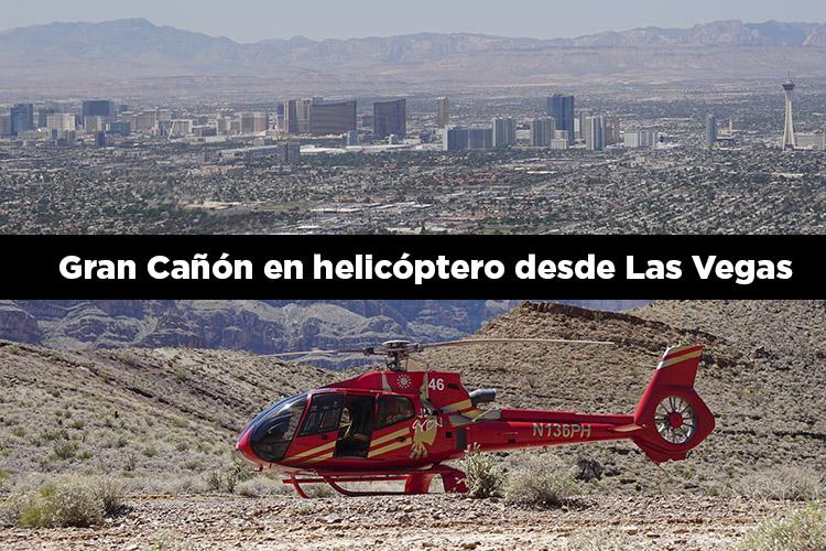 Excursión al Gran Cañón en helicóptero desde Las Vegas (visita del West Rim)