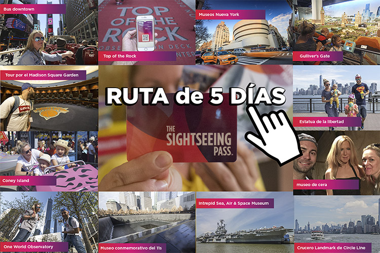 RUTA CON AL SIGHTSEEING PASS