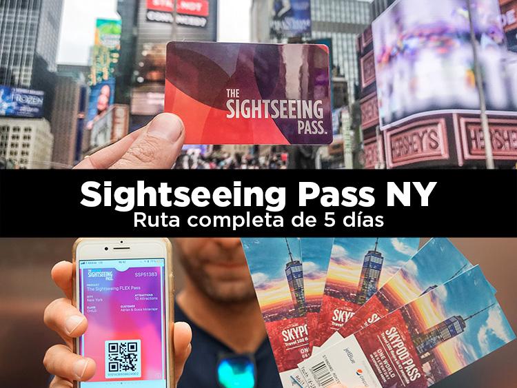 Sightseeing Pass Nueva York. Ruta completa de 5 días
