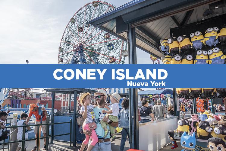 Coney Island. Cómo visitar la playa de Nueva York y el Luna Park