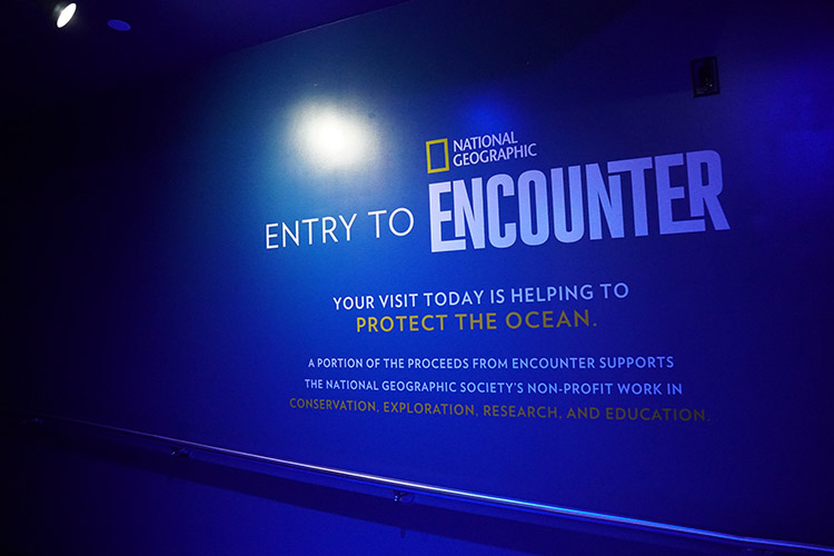 National Geographic Encounter Ocean Odyssey Nueva York