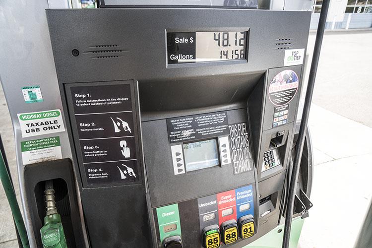 gasolinera petrol usa Cómo echar gasolina en Estados Unidos
