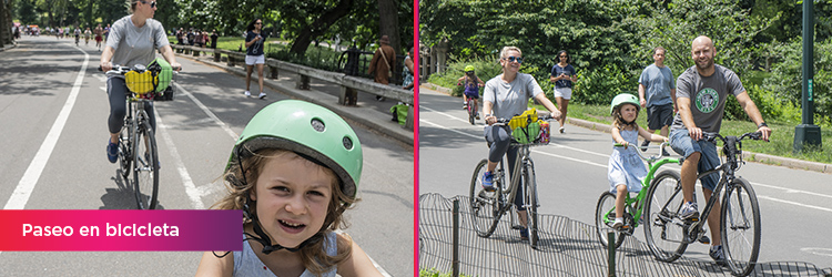 paseo bicicleta nueva york