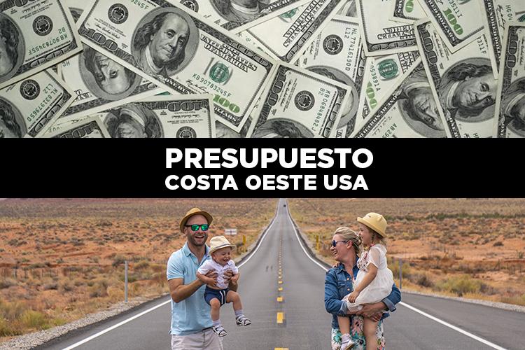 Presupuesto viaje Costa Oeste Estados Unidos