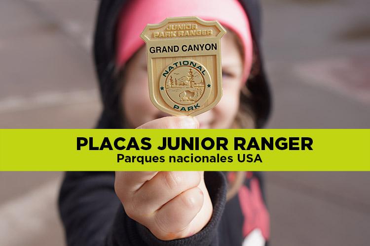 Placas de Rangers: ¿Cómo convertirse en un Junior Ranger?