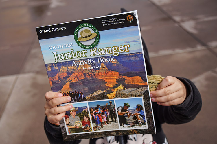 programa ranger junior gran canyon