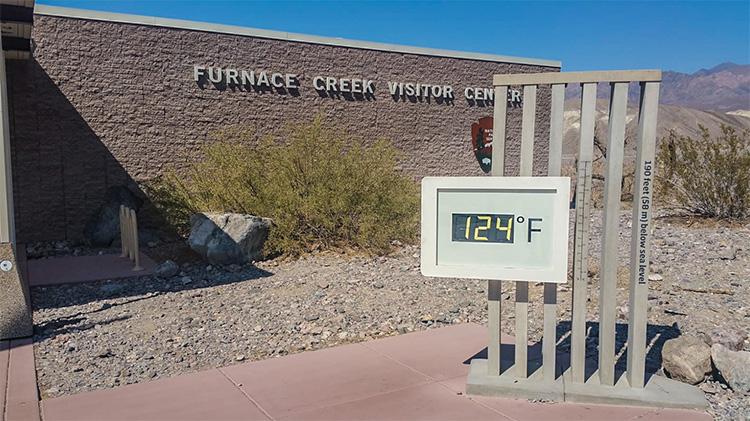 Furnace Creek valle de la muerte