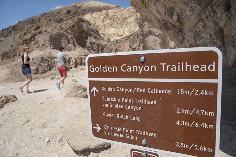 golden canyon trekking