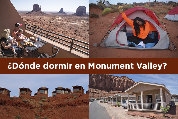 ¿Dónde dormir en Monument Valley?