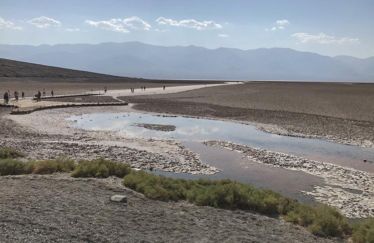 lago valle de la muerte