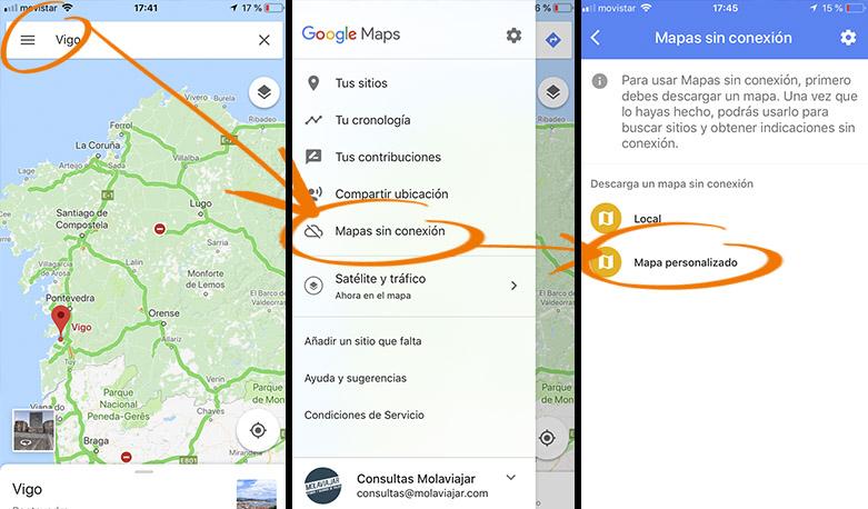 mapas off line molaviajar