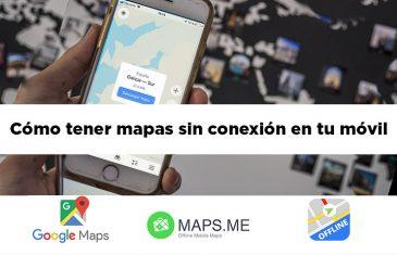 mapas sin conexion movil