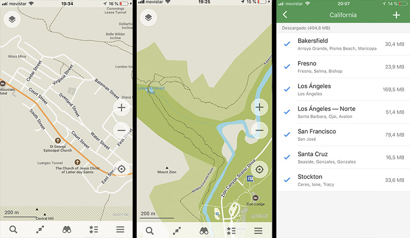 Cómo descargar mapas offline en tu movil
