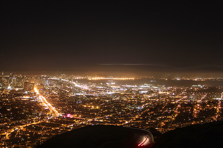 mirador de Twin Peaks SAN FRANCISCO