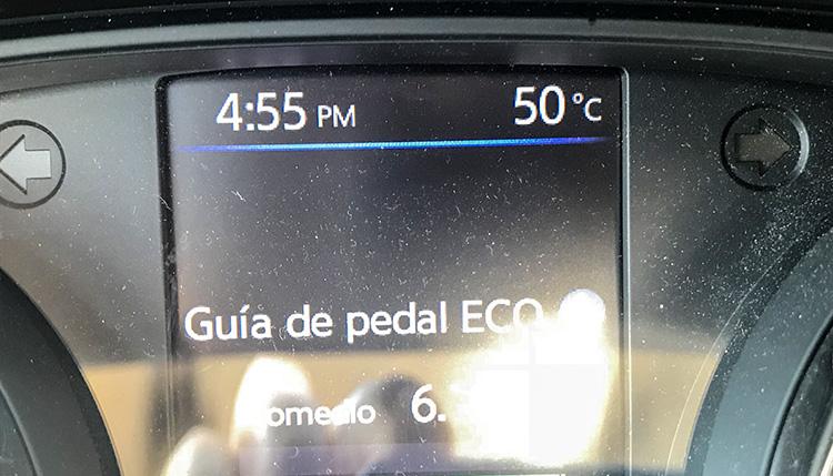 temperatura coche valle de la muerte