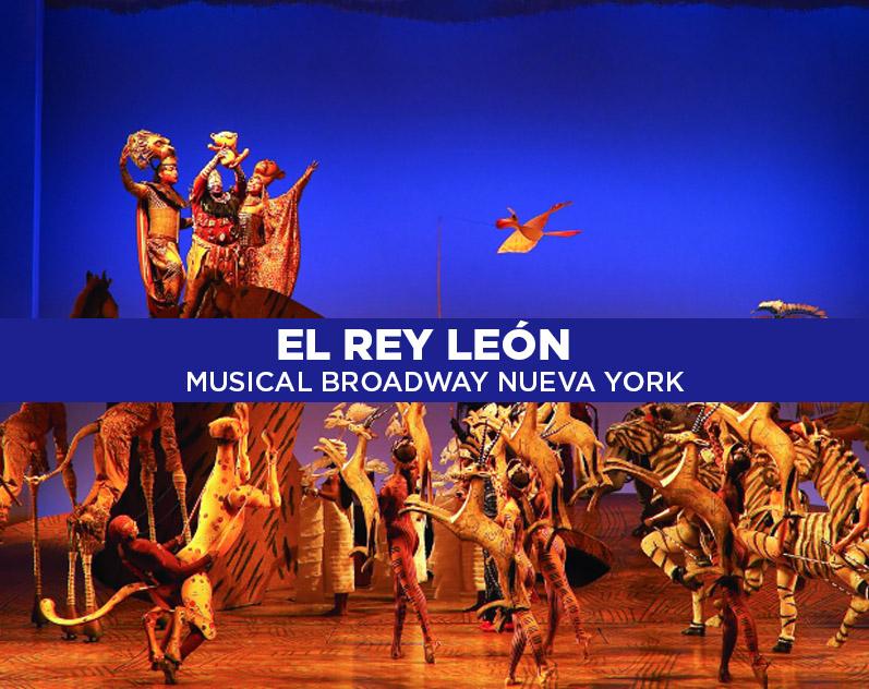 El Rey León, uno de los mejores musicales de Broadway