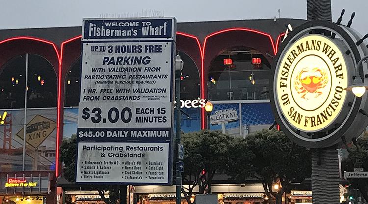precios parking san francisco
