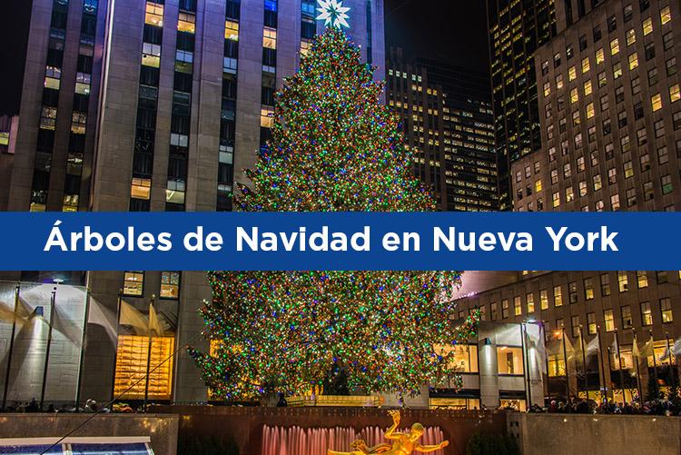 Ruta para ver los mejores árboles de Navidad en Nueva York