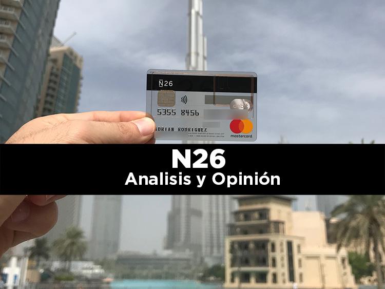 N26: Nuestra opinión y experiencia pagando con ella