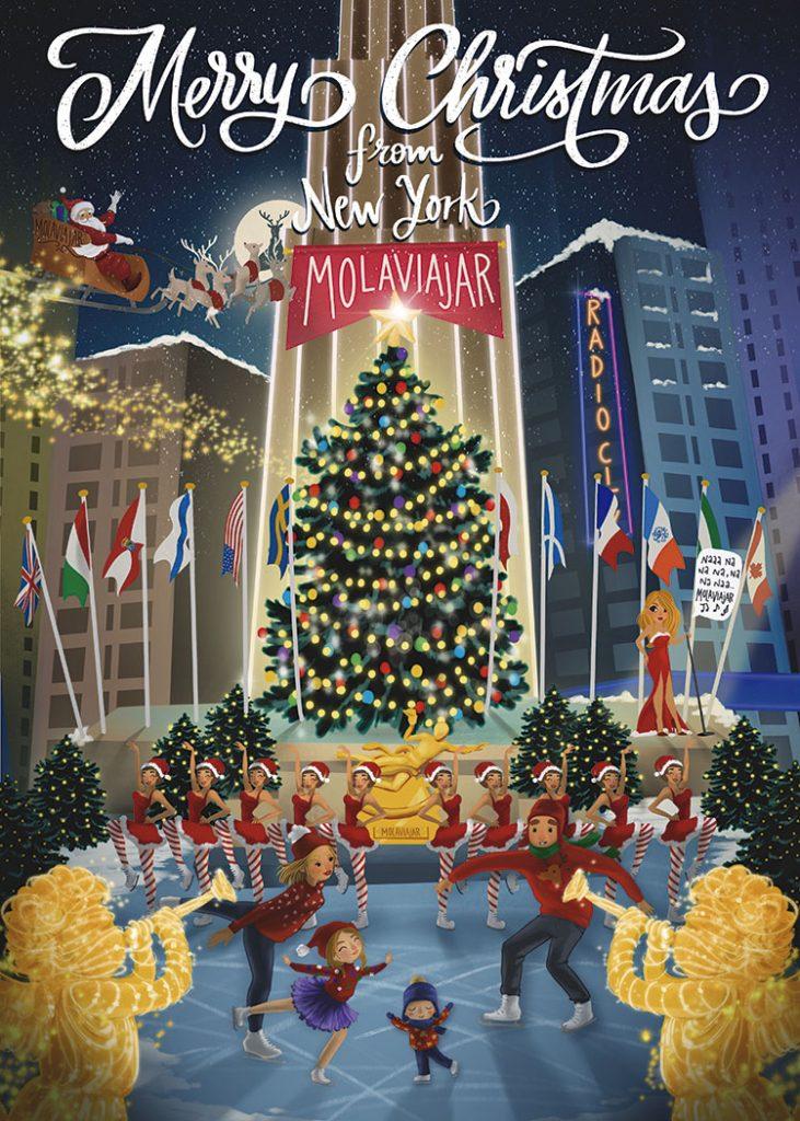 Navidad Nueva York Molaviajar