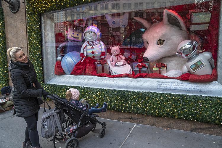escaparates nueva york navidad macys