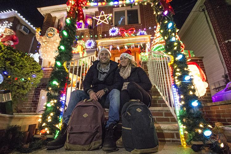 luces de navidad nueva york molaviajar