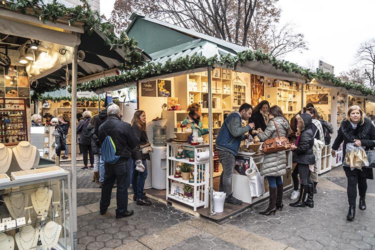 mercado navidad central park