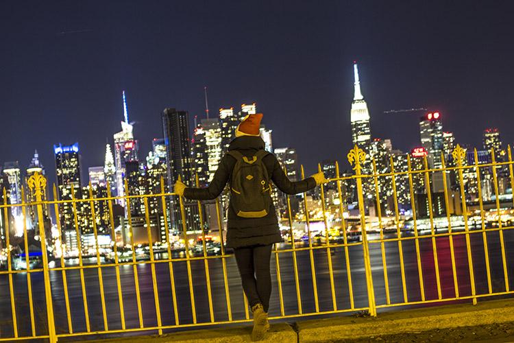 skyline navidades en Nueva York molaviajar