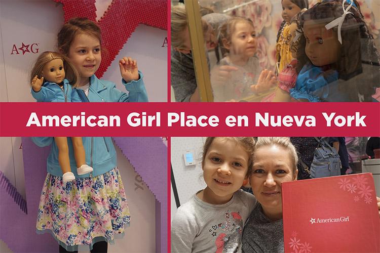 American Girl Place. La locura de las niñas en Nueva York