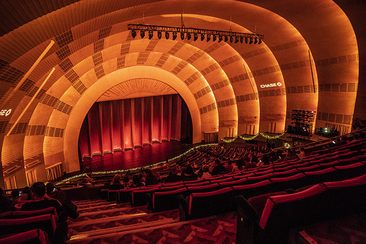 interior radio city NY