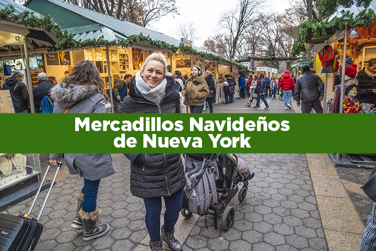 Mercadillos navideños de Nueva York