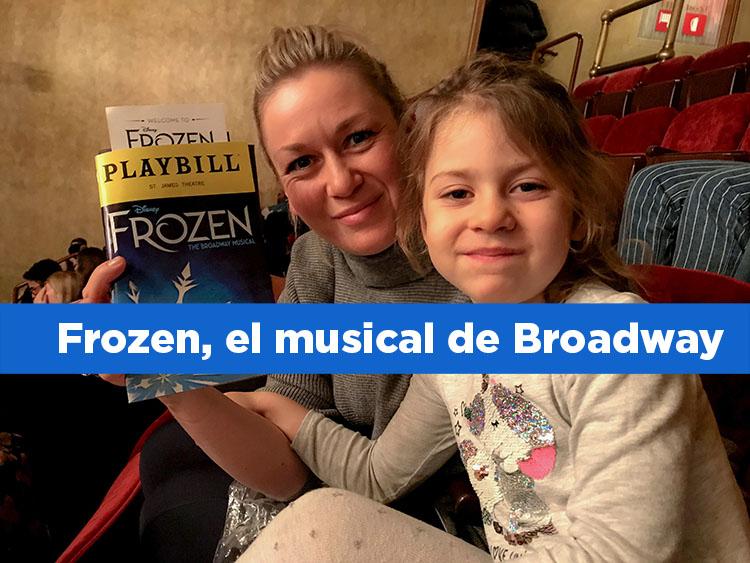 Frozen, el musical de Broadway