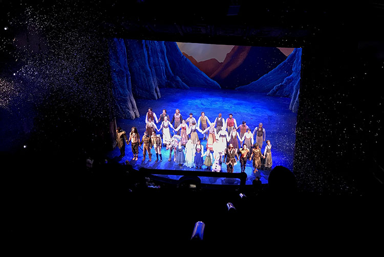 musical frozen nueva york