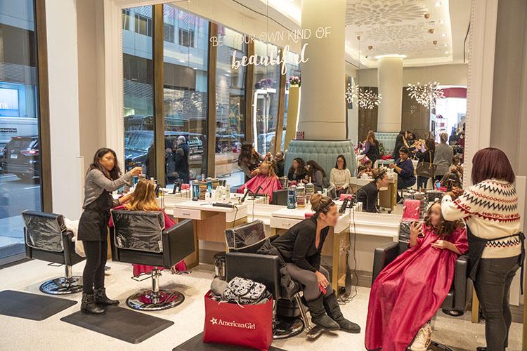 peluqueria molaviajar American Girl Place ropa nueva york
