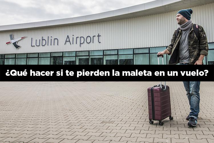 ¿Qué hacer si te pierden la maleta en un vuelo?